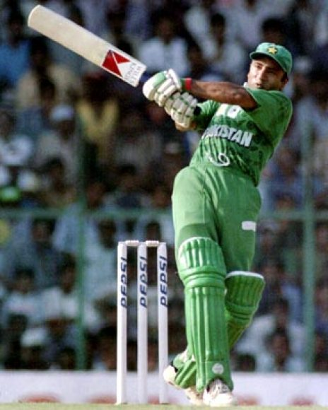 Saeed Anwar - Left-handed