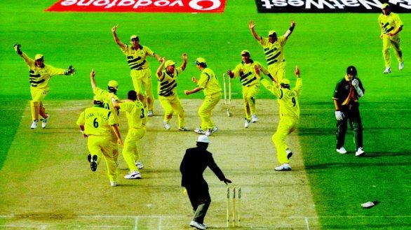 World Cup 1999 South Africa vs Australia Semi-Final