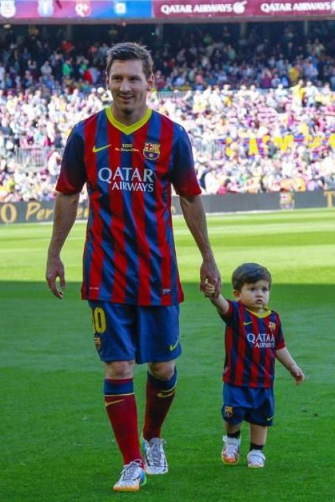 His Son, Thiago Messi, Is Already Signed By Newell's Old Boys' Club