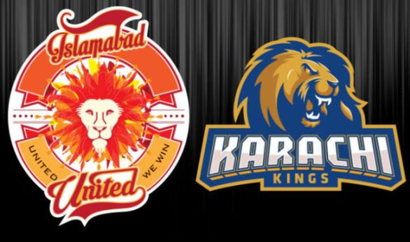 PSL 2016 16th Match, Islamabad United vs Karachi Kings