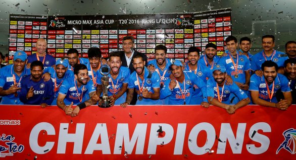 India Celebrates The Victory