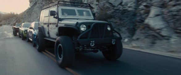 Jeep Wrangler Unlimited 2015 fast and furious 7