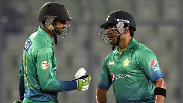 Umar Akmal and Shoaib Malik