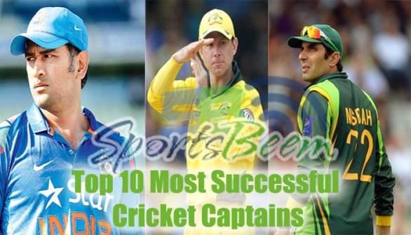 most successful cricket captains