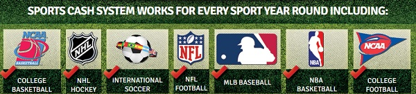 The sports betting system works for every game