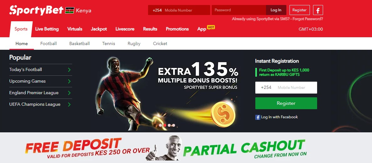 sportybet signup paybill number