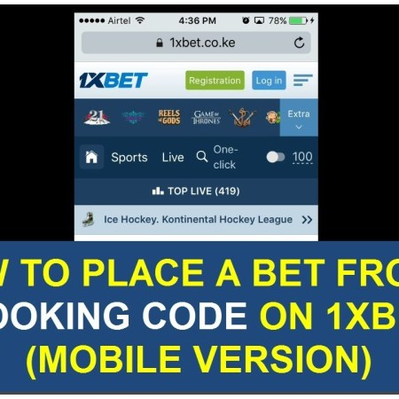 How to Load Bet Code on 1XBET