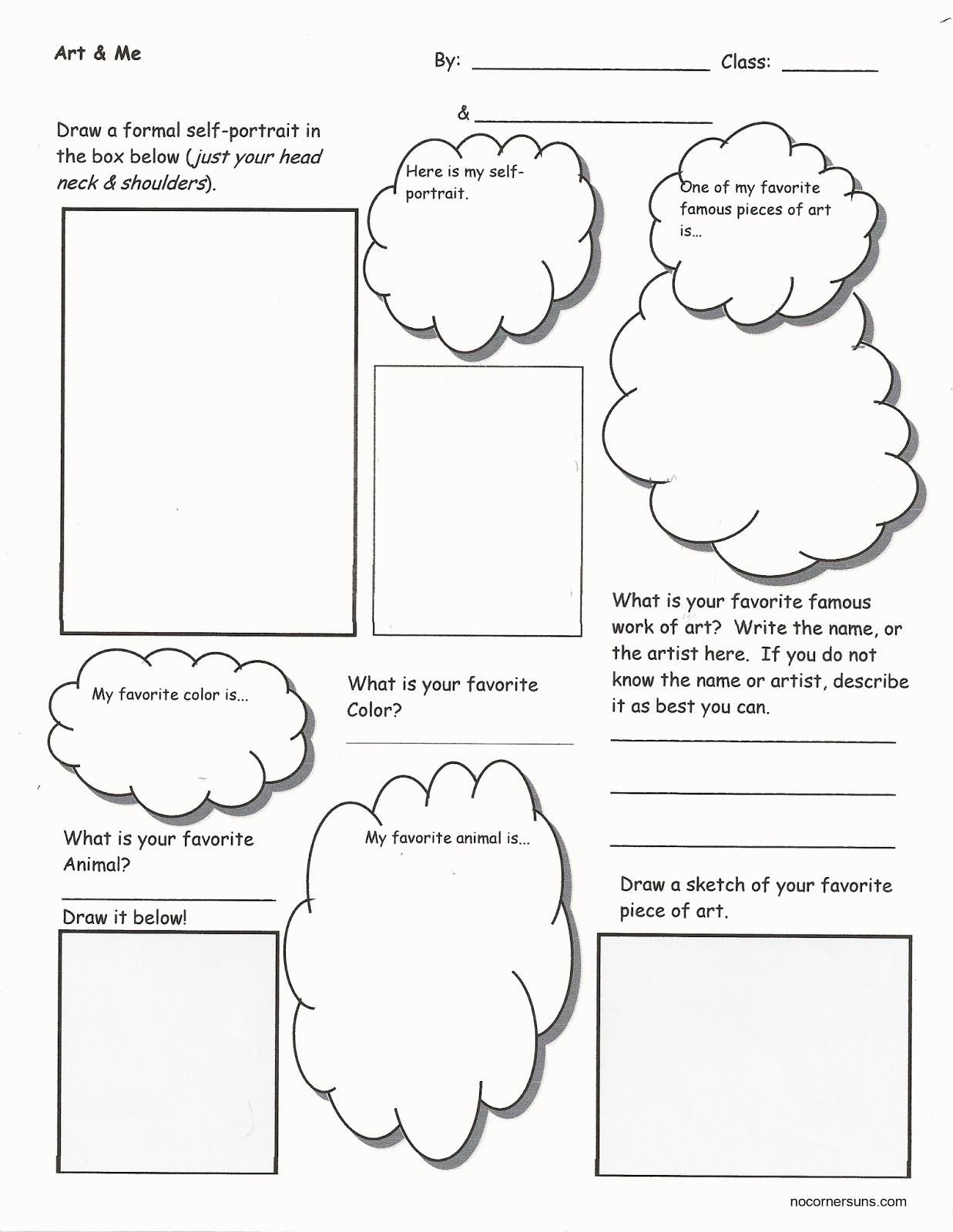 20 Art Worksheets Middle School