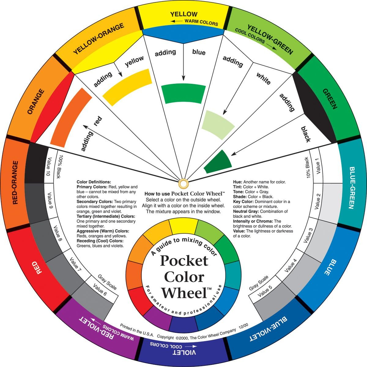 20 Color Theory Worksheet Answer Key