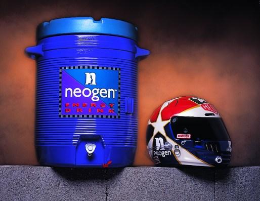 Neogen Cooler & Helmet