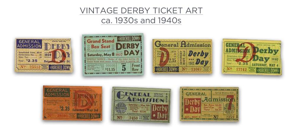Vintage Derby Tickets