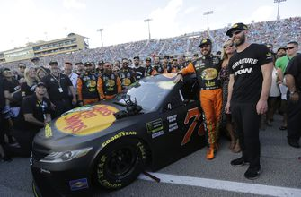 Truex's planned goodbye bash turns into pity party at finale