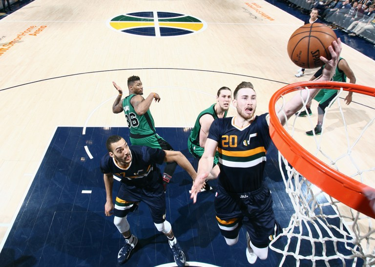 Boston Celtics v Utah Jazz