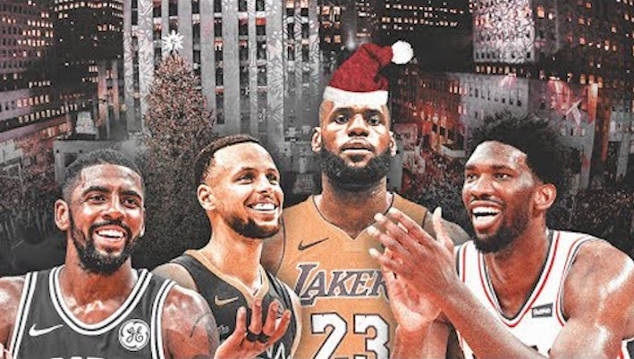 Ranking the 2018 NBA Christmas Day Games – SportsbyFry