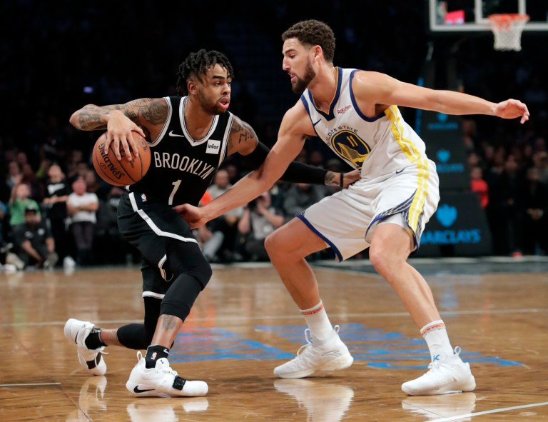 Klay Thompson, D'Angelo Russell