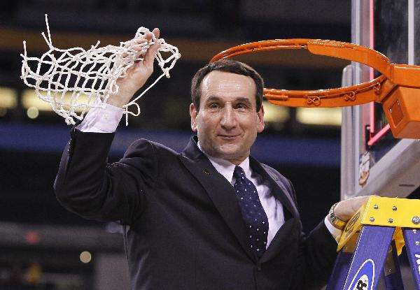 Image result for coach k