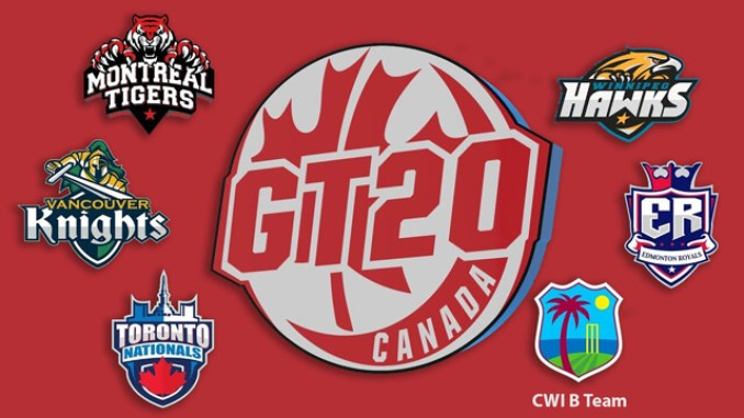 Image result for GT20 Canada 2019 Schedule, Time Table Venues and Points Table