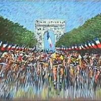 Ciclismo não é só um esporte! É obra de arte também!