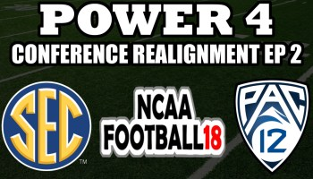 NCAA Football 18 – Setting Up Conferences – Power 4