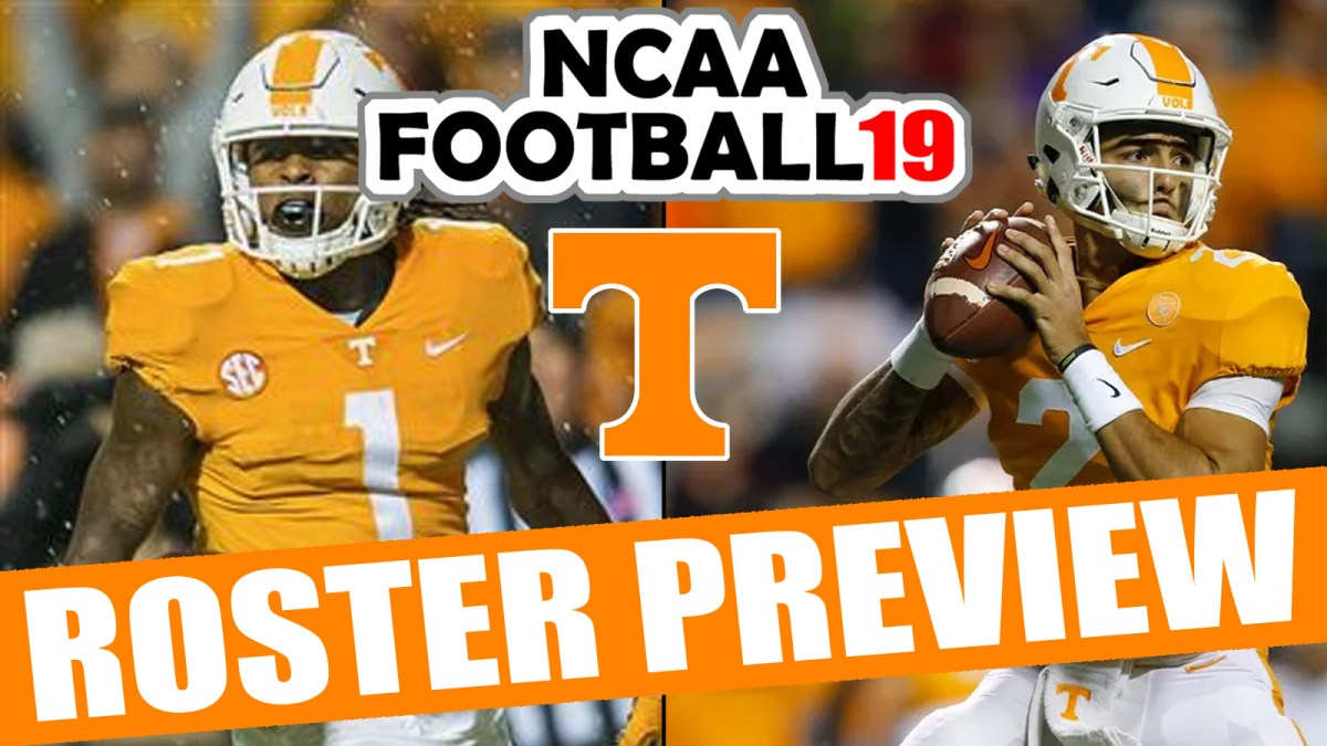 Tennessee 2018 Roster Preview Updated Rosters For Ncaa Football 14 Operation Sports Rosters