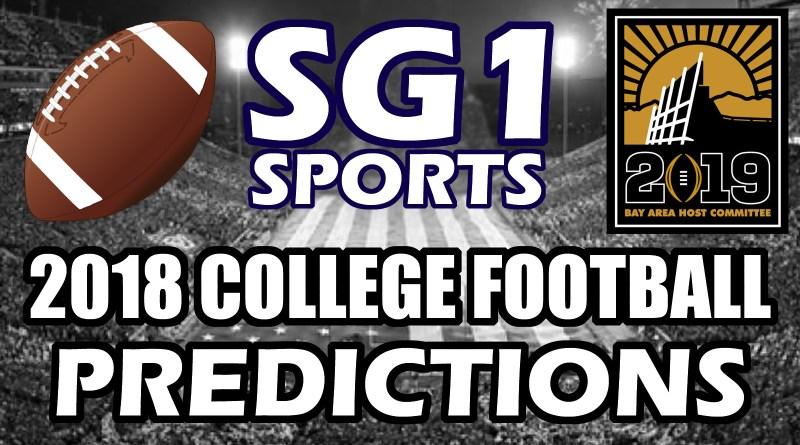 2018 College Football Predictions – Sports Creators