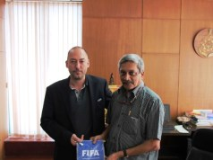 Manohar Parrikar, Goa CM, FIFA, FIFA U-17 World Cup, India 2017, Pt. Jawaharlal Nehru Stadium, Fatorda, U-17 World Cup, Latest FIFA News, Latest Football News, Latest FIFA World Cup News, Current FIFA News, Current Football News, Current FIFA World Cup News,