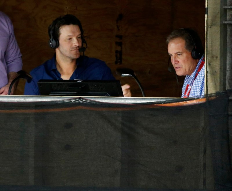 Image result for tony romo announcer