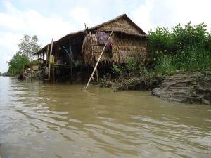 ヤンゴンの家