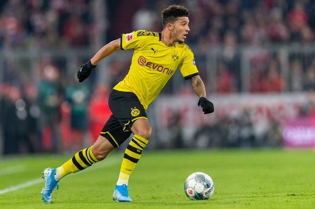 Jadon Sancho to replace Lionel Messi at Barcelona.