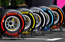 F1 tire compound used in 2021 season