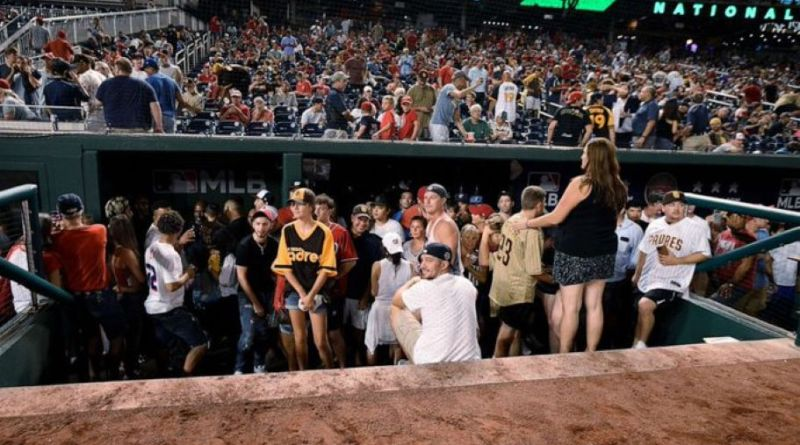 A Shooting Outside The Washington Nationals/ San Diego Padres Game Has Sent Players And Fans Into A Frenzy