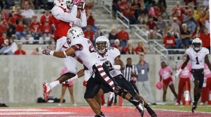 Turnovers Doom Temple In 31-10 Loss To Houston