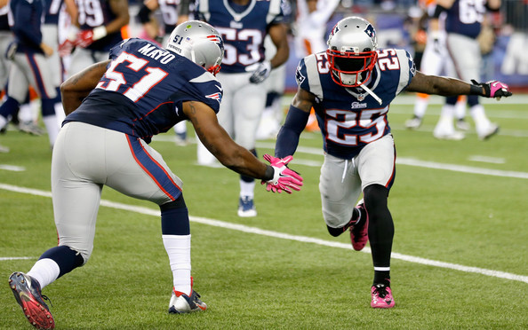 New England Patriots Lose Jerod Mayo and Stevan Ridley For Year