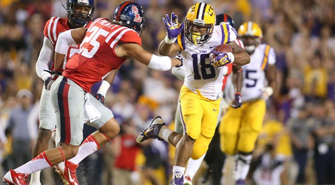 LSU Upsets Ole Miss, Ends Rebels' Undefeated Season