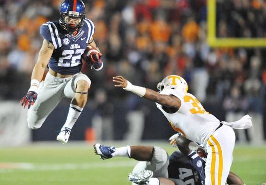 Ole Miss Shuts Down Tennessee 34-3