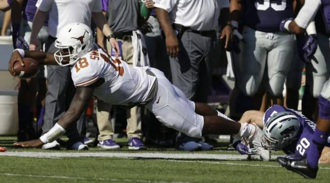 Kansas State Shuts Out Texas 23-0