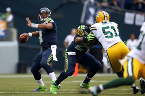 Russell Wilson and the Seahawks are just one step away from another Super Bowl appearance (Otto Greule Jr/Getty Images North America)