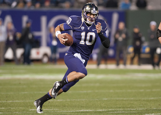 Cyler Miles will not play for Washington in 2015 according to a report (USATSI)