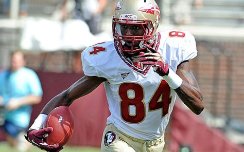 Wide receiver Isaiah Jones will transfer from the Seminoles (USA Today Sports Images)