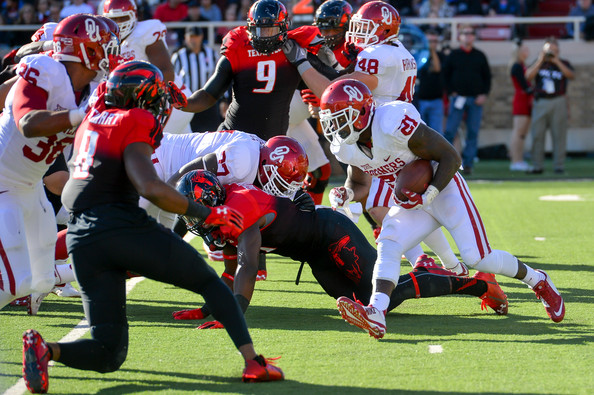 Keith Ford (#21) against Texas Tech in 2014 (John Weast/Getty Images North America)