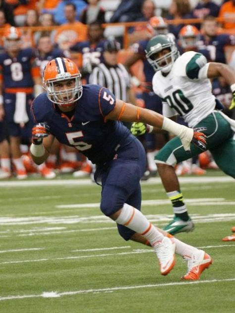 Luke Arciniega with Syracuse in 2013 (Provided by Syracuse University Athletics)