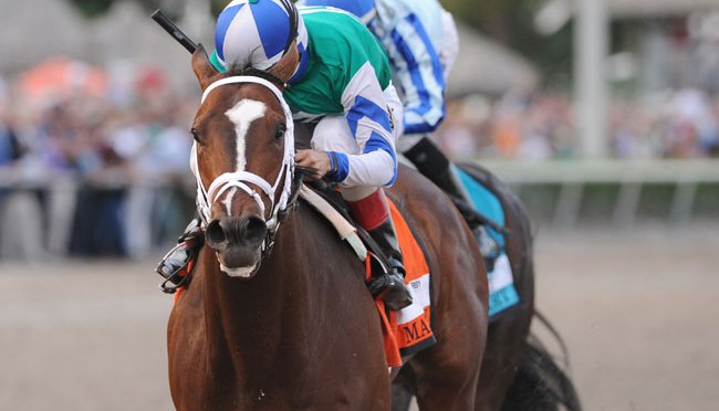 Materiality Holds Off Upstart In The Florida Derby