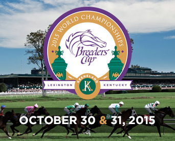 Keeneland will host the 2015 Breeders' Cup on October 30 and 31 (Photo courtesy of BreedersCup.com)