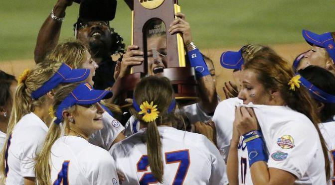 2015 NCAA Division I Softball Bracket Announced
