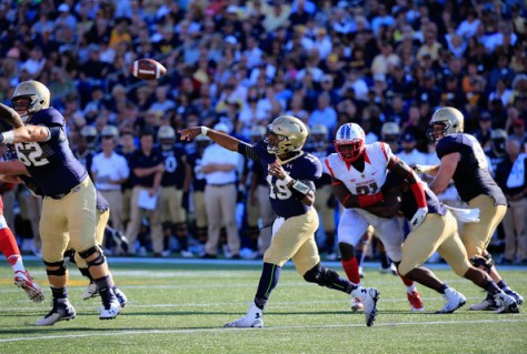 Navy has joined a conference for the first time in their history. How will they fare in The American in 2015? (Rob Carr/Getty Images North America)
