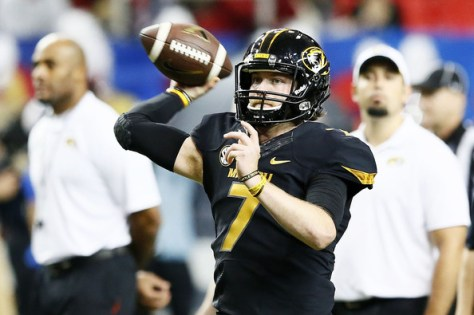 Maty Mauk has been an integral part of Missouri making back-to-back SEC Championship games in 2013 and 2014. Will it be a third in a row for the Tigers? (Kevin C. Cox/Getty Images North America)