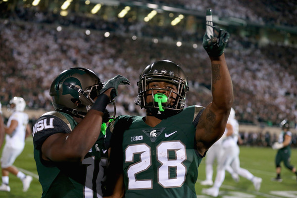 Madre London and Michigan State delivered a big win for Michigan State and the Big Ten (Streeter Lecka/Getty Images North America)