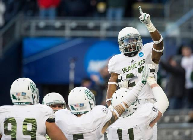 Northwest Missouri State dominated Shepherd 34-7 to win their 5th Division 2 Football National Championship (Brian Davidson/Kansas City Star)