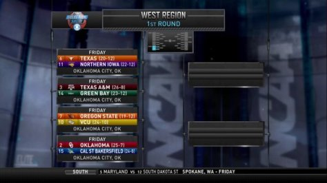 2016 Tourney West Region Part 2
