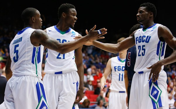 Florida Gulf Coast Crushes Fairleigh Dickinson
